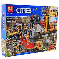 Конструктор «Cities» Bela - зона горных экспертов, 919 дет, (10876)