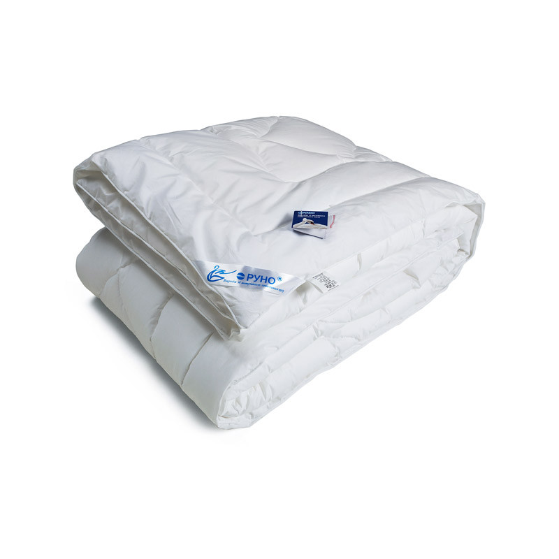 Одеяло лебяжий пух Руно тик зимнее 200х220 евро