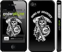"Чехол на iPhone 4 Sons of Anarchy v1 ""2510c-15"""