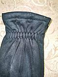 Замш с сенсором с Арктический бархат Angel перчатки мужские только оптом, фото 3