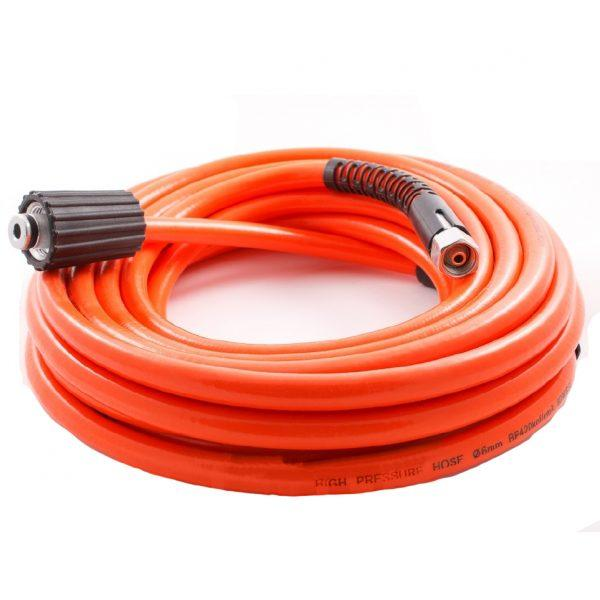 Шланг Iron для моек высокого давления 8 м (красный, 15 мм)