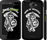 "Чехол на HTC One X+ Sons of Anarchy v1 ""2510c-69"""