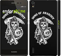"Чехол на Huawei Ascend P7 Sons of Anarchy v1 ""2510c-49"""