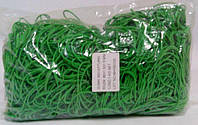 """Резинки для денег зеленые (80*1,5*1,5)  """"Plast"""", 1 кг/пач"""
