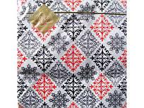 Дизайнерская салфетка (ЗЗхЗЗ, 20шт) Luxy  Ажурная шахматка (541) (1 пач)