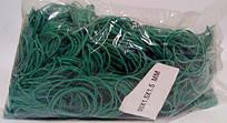 """Резинки для денег зеленые (50*1,5*1,5)  """"Plast"""", 1 кг/пач"""