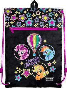 Сумка для обуви Kite с карманом My Little Pony розовый LP19-601M-2