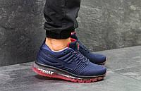 Мужские кроссовки Nike Air Max 2017 Blue, красные. Код товара : KS 758