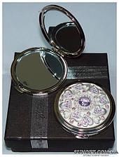 Косметическое зеркальце в подарочной упаковке Франция №6960-M63P-1