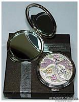 Косметическое зеркальце в подарочной упаковке Франция №6960-M63P-15