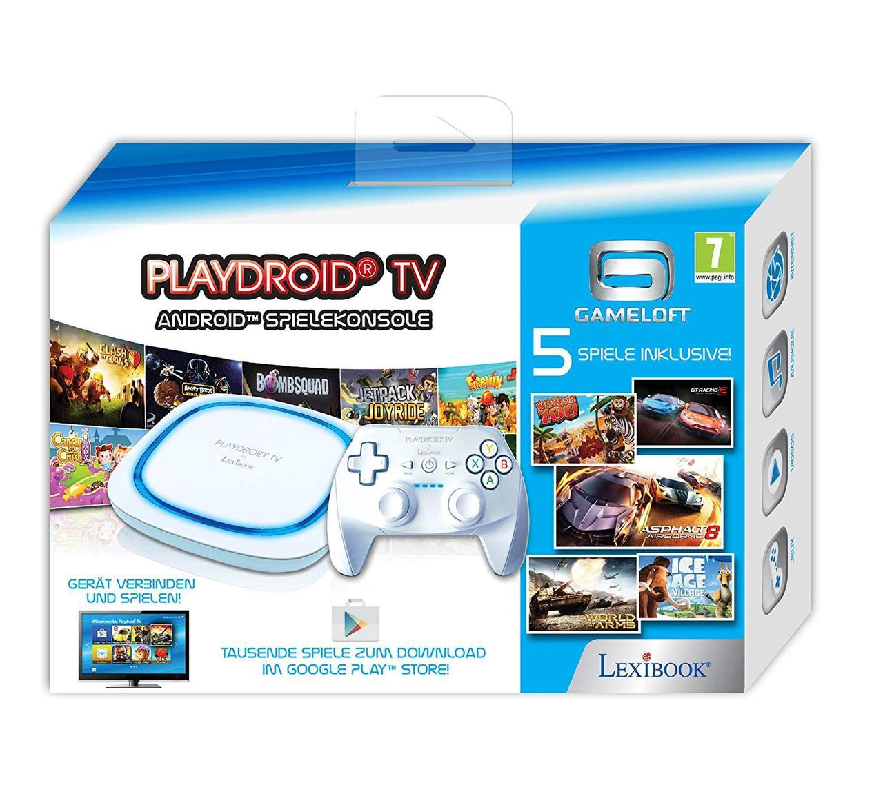 Ігрова консоль Lexibook playdroid TV