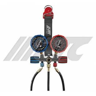 Устройство для заправки автокондиционера с магнитным ремнем