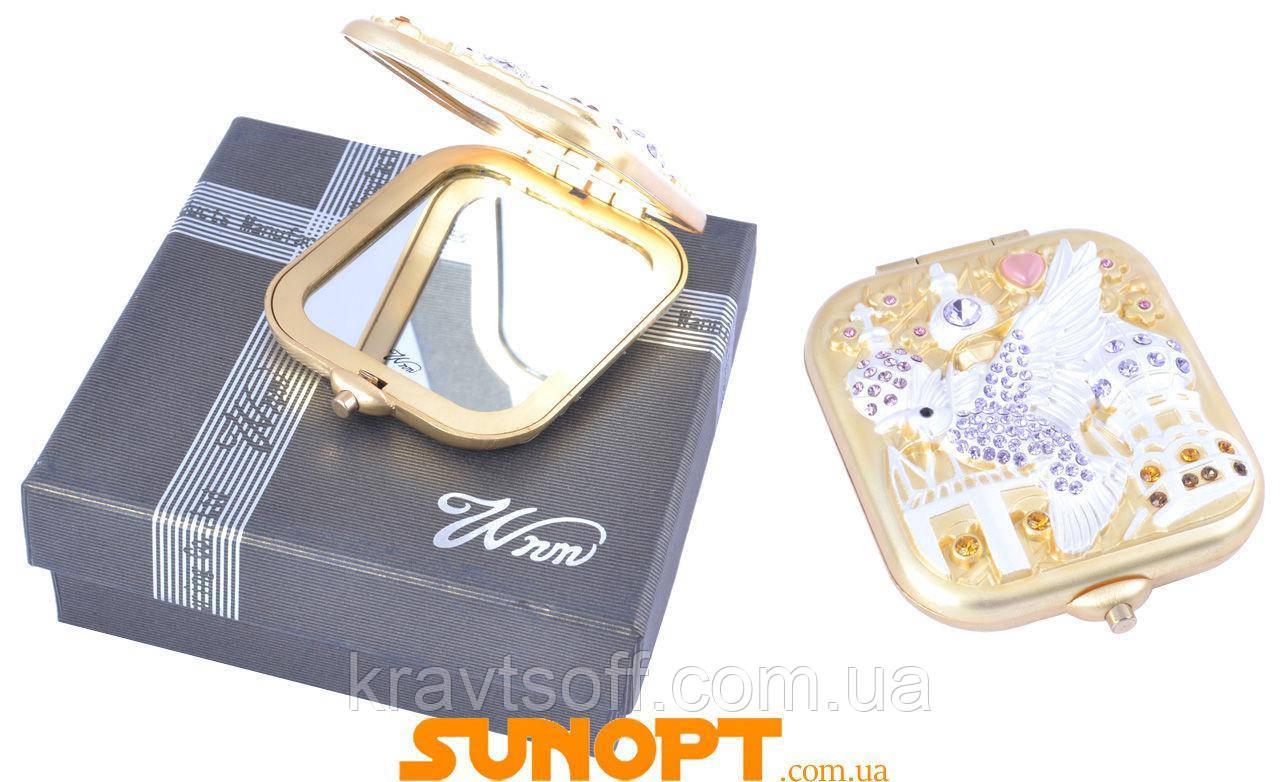 Зеркальце в подарочной упаковке Англия №6960-CB70G-1