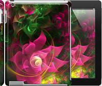 """Чехол на iPad 2/3/4 Абстрактные цветы 2 """"818c-25"""""""