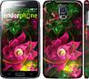 "Чехол на Samsung Galaxy S5 g900h Абстрактные цветы 2 ""818c-24"""