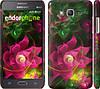 """Чехол на Samsung Galaxy Grand Prime G530H Абстрактные цветы 2 """"818c-74"""""""