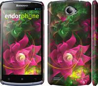 "Чехол на Lenovo S920 Абстрактные цветы 2 ""818c-53"""