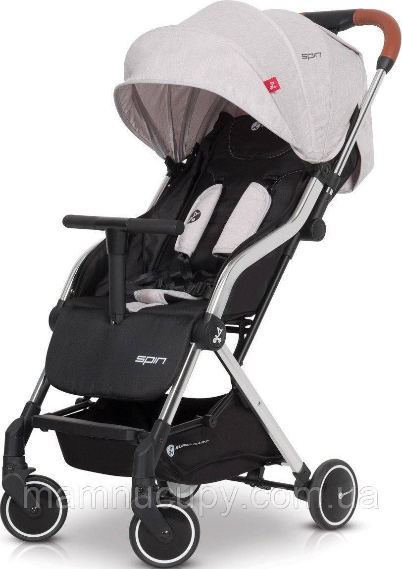 Детская прогулочная коляска EuroCart Spin Grey Fox
