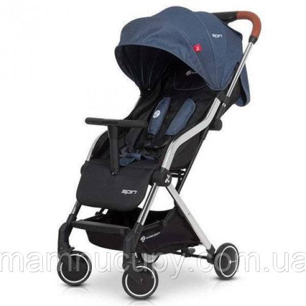 Детская прогулочная коляска EuroCart Spin Denim