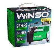 Компрессор автомобильный WINSO (насос) от прикуривателя 37 л/мин 7.0 Атм пласт. накладка 122000