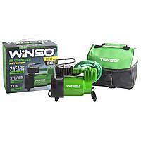 Компрессор автомобильный (насос) от прикуривателя WINSO  37 л/мин 7.0 Атм 124000