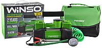 Компрессор автомобильный (насос) WINSO  85 л/мин 10 Атм 5,7 м. 2 цилиндра 125000