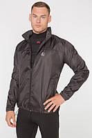Мужская ветровка-дождевик с капюшоном Radical Flurry M Черный (r05250