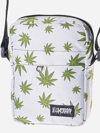 Оригинальная светлая сумка мессенджер, фото 2