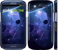 """Чехол на Samsung Galaxy S3 Duos I9300i Планеты в синем космосе """"171c-50"""""""