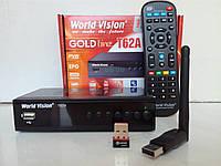 Цифровой Т2 тюнер WorldVision T62А+ Интернет+Youtube+ AC3+WiFi адаптер