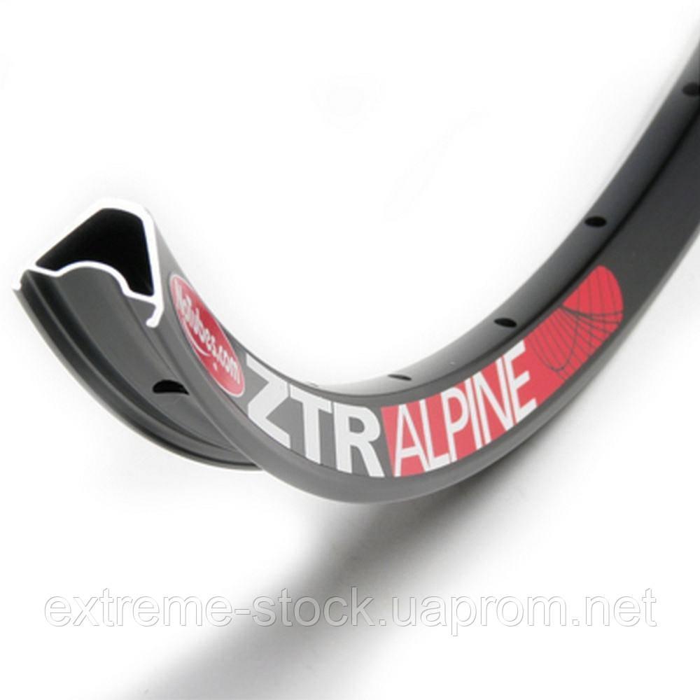 Обод Stan's NoTubes ZTR Alpine 26 дюймов, чёрный, 32 отверстия