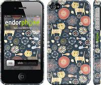 """Чехол на iPhone 4s Котята v4 """"1224c-12"""""""