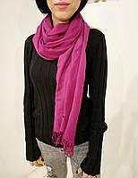 Женский кашемировый шарф-палантин в фиолетовом цвете