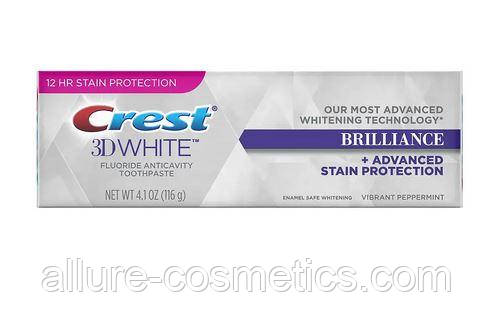 Отбеливающая зубная паста Crest 3D White Brilliance