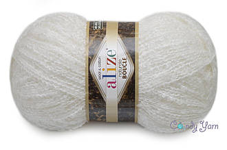 Alize Naturale Boucle, Белый №55