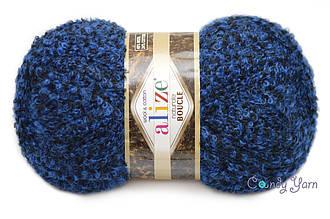 Alize Naturale Boucle, Темно-синий №6025