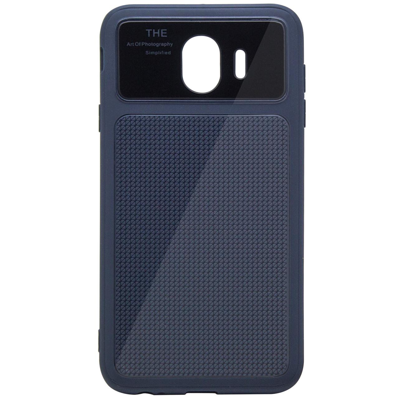Чехол-накладка Glossy Half для Samsung J400F Galaxy J4 (2018) Синий