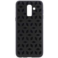 Чехол-накладка Cube для Samsung Galaxy J8 (2018) Черный