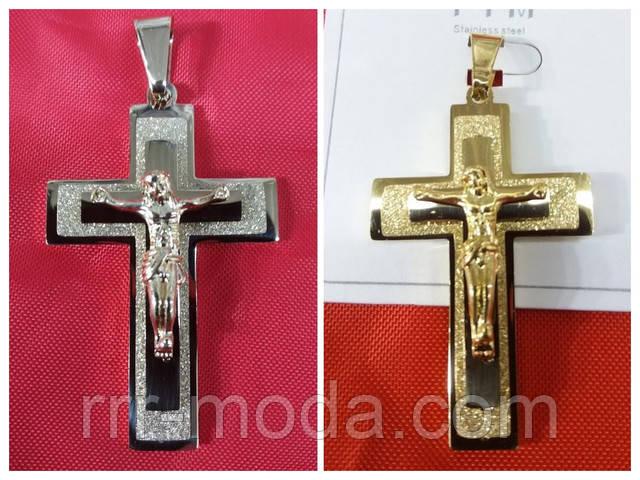 Женские кулоны кресты, позолоченные кулоны оптом.