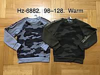 Кофта утеплённая для мальчиков оптом, Active Sports, 98-128 см,  № HZ-6882, фото 1