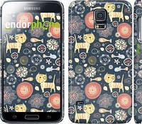 """Чехол на Samsung Galaxy S5 g900h Котята v4 """"1224c-24"""""""