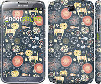 "Чехол на Samsung Galaxy Note 2 N7100 Котята v4 ""1224c-17"""