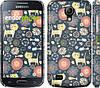 """Чехол на Samsung Galaxy S4 mini Котята v4 """"1224c-32"""""""