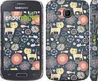 "Чехол на Samsung Galaxy Ace 3 Duos s7272 Котята v4 ""1224c-33"""