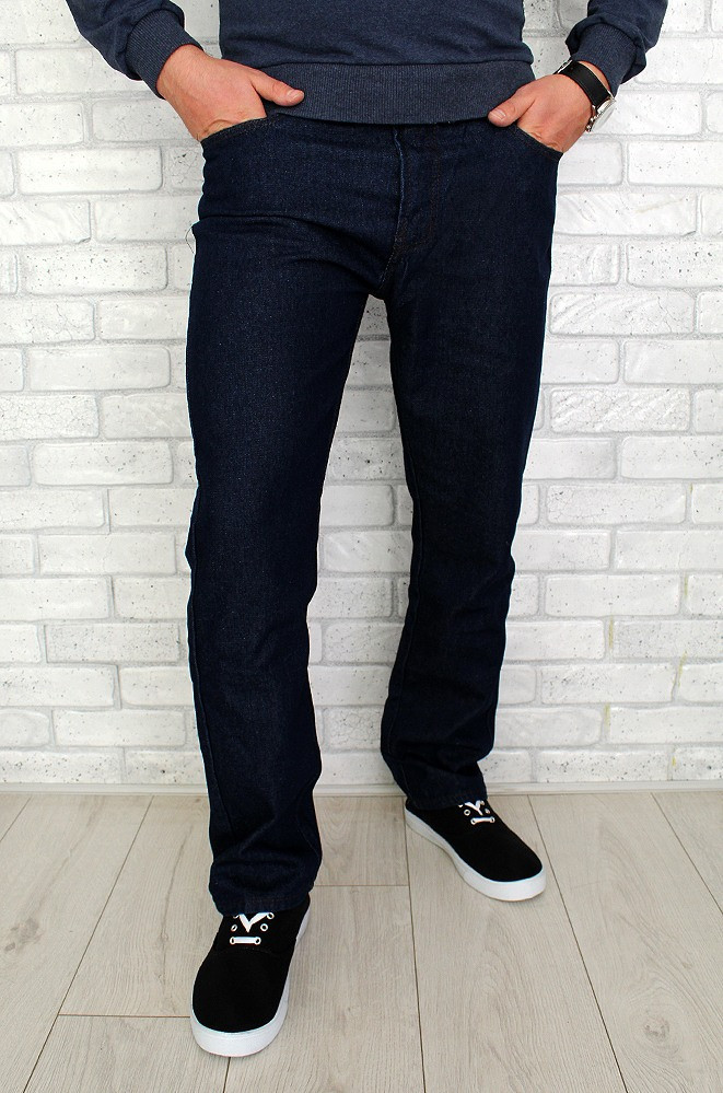 Джинсы мужские темно - синие 600