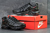 Мужские кроссовки Nike Air VaporMax Plus Black/Red, черные. Код товара : KS 604