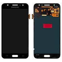 Дисплей Samsung J500 Galaxy J5, черный, с сенсорным экраном, Original (PRC), original glass