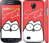 "Чехол на Samsung Galaxy S4 mini Duos GT i9192 Кот Саймона ""898c-63"""