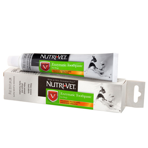 Энзимная зубная паста для собак Нутри-Вет Nutri-Vet Enzymatic Toothpaste 70 г