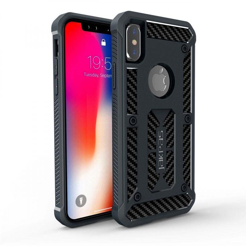 """Защитный чехол Jakpas для Apple iPhone X (5.8"""") Черный"""